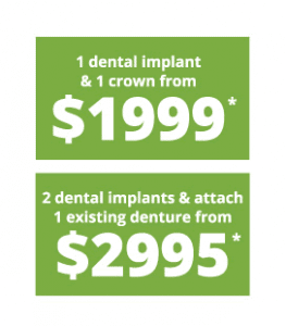 Implant & Crown price
